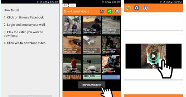 Descargar vídeos en Android