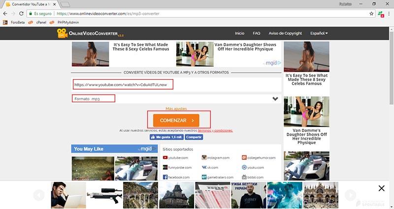 conversor de videos de youtube imagen 4