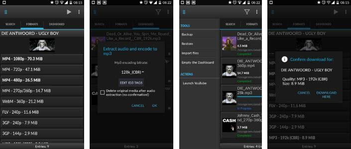 dentex app para videos
