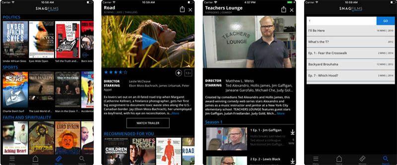 peliculas online para ios iphone
