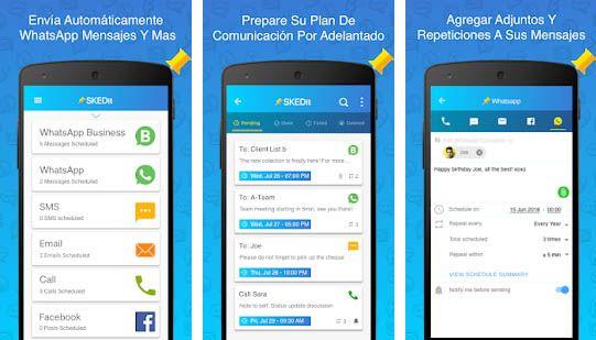 programar mensajes aplicacion para whatsapp